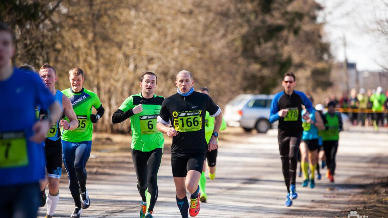 2018 aasta esimene võistlus – Parkmetsa jooks 7km