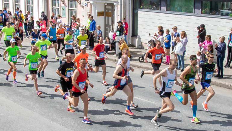 Kuressaare Linnajooks 2018 – 10 km
